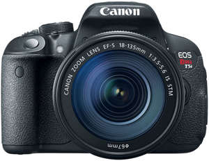 Canon EOS Rebel T5i with 18-135mm STM Lens