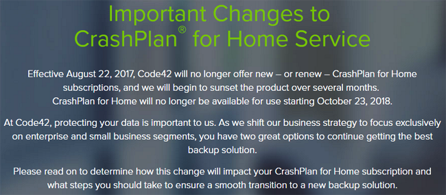 Attn Crashplan Customers The 'crashplan For Home. Water Damage In Basement Bank Refinance Rates. Small Storage Space For Rent. Workers Compensation Lawyer San Diego. 17 Year Old Car Insurance Insurance Fraud Ny. Free Credit Reports For All 3 Bureaus. Vermont Moving And Storage Kentucky Drive In. Network Filtering Software Cheap Auto Repair. Why Would Someone Want To Be A Social Worker