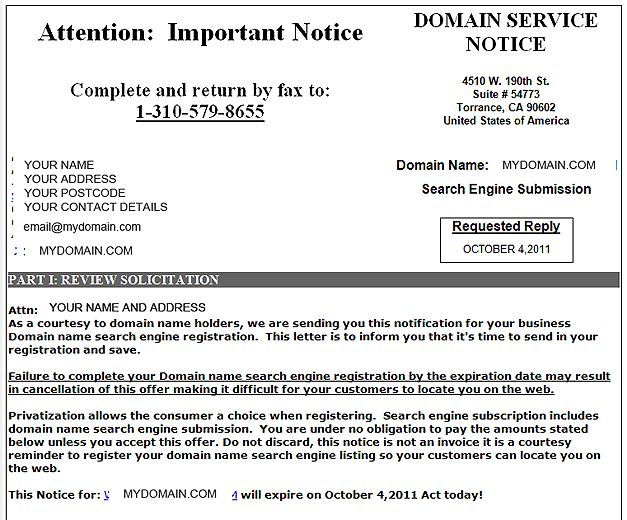 Scam alert: Beware fake