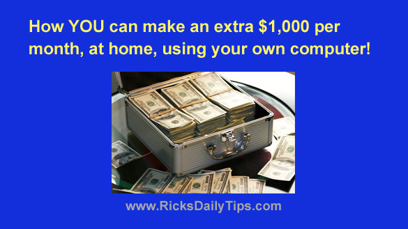 How YOU can make an extra $1,000 per month, at home, using ...